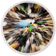 Autumn Colors Round Beach Towel by Paul Ward