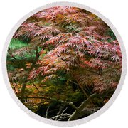Autumn Is Here Round Beach Towel by Parker Cunningham