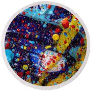 Available Space Round Beach Towel