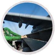 Aviation Boatswains Mate Ducks As An Round Beach Towel