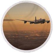 Avro Lancaster - Homeward Round Beach Towel
