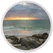 Awakenings Round Beach Towel