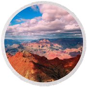 Awesome View Round Beach Towel