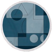 Axiom Round Beach Towel