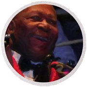 B. B. King Round Beach Towel