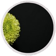 Baby Mums On Black Round Beach Towel