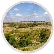 Badlands 21 Round Beach Towel