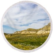 Badlands 38 Round Beach Towel
