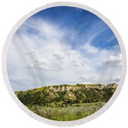Badlands 48 Round Beach Towel