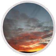Bafflin Sanctuary Light Round Beach Towel