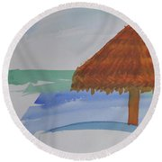 Baja Round Beach Towel
