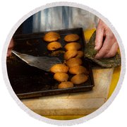 Baker - Food - Have Some Cookies Dear Round Beach Towel