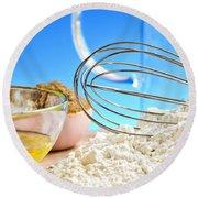 Baking Round Beach Towel by Elena Elisseeva