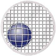 Ball In The Net Round Beach Towel
