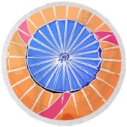 Balloon Colored Round Beach Towel