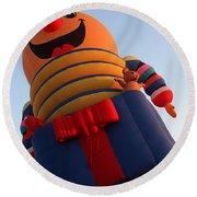 Balloon-jack-7660 Round Beach Towel