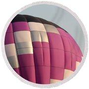 Balloon-purple-7457 Round Beach Towel