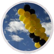 Balloons Round Beach Towel