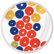 Balls Round Beach Towel