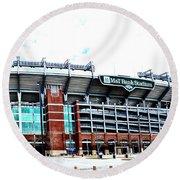 Baltimore Ravens - M And T Bank Stadium Round Beach Towel