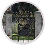 Bamberg Gate Round Beach Towel