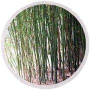 Bamboo By Roadsides Cherry Hill Roadside Greens            Round Beach Towel