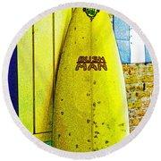 Banana Board Round Beach Towel