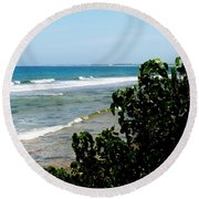 Barkers West Round Beach Towel
