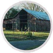 Barn 1 - Featured In Old Building And Ruins Group Round Beach Towel