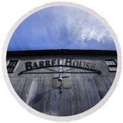 Barrel House One Round Beach Towel