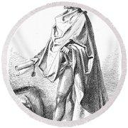 Bartholomew Columbus (c1445-c1514) Round Beach Towel