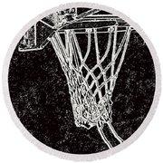 Basketball Years Round Beach Towel