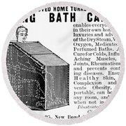 Bath Cabinet, 1897 Round Beach Towel