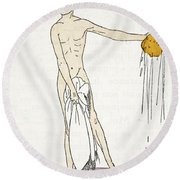 Bathing Round Beach Towel