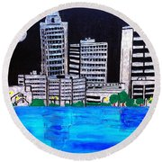 Baton Rouge La  Round Beach Towel