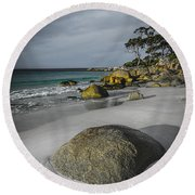 Bay Of Fires 2 Round Beach Towel