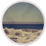 Beach Days Round Beach Towel by Laurie Search