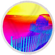 Beach Dream Round Beach Towel