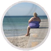 Beach Dreamer Round Beach Towel