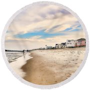 Beach Haven Round Beach Towel