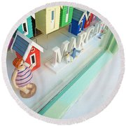 Beach Huts For Sale Round Beach Towel