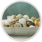 Beach In A Bowl Round Beach Towel