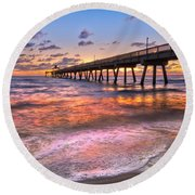 Beach Lace Round Beach Towel