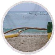 Beach Play Round Beach Towel