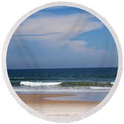 Beach Time Round Beach Towel