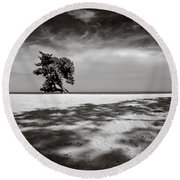 Beach Tree Round Beach Towel