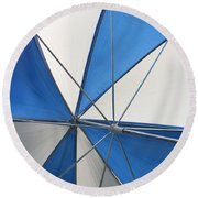 Beach Umbrella Round Beach Towel