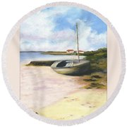 Beached Round Beach Towel