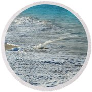 Beaches Round Beach Towel