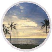 Beachwalk Series - No 18 Round Beach Towel